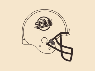 The Strokes Helmet