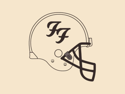 Foo Fighters Helmet