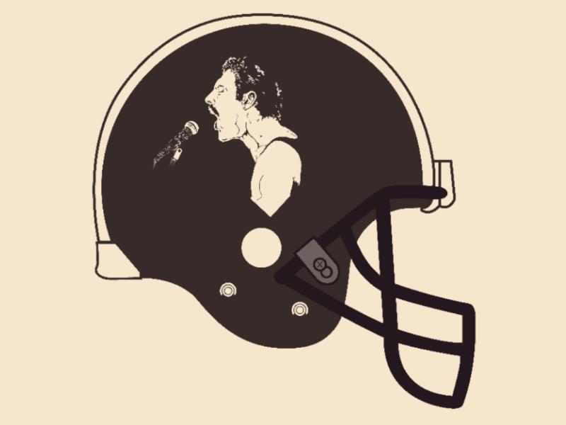 Helmet Freddie vector illustrator design