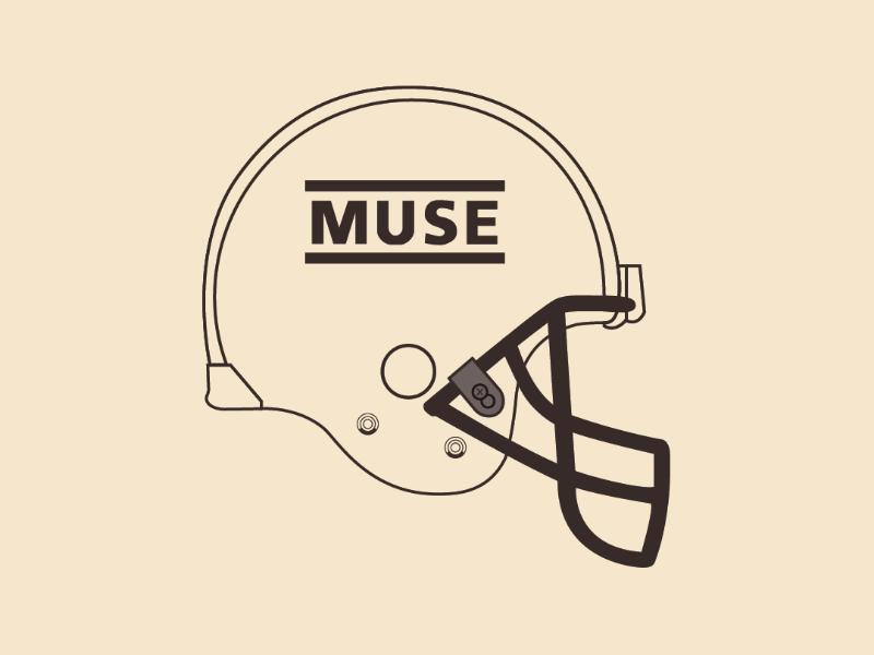 Muse Helmet vector illustrator design