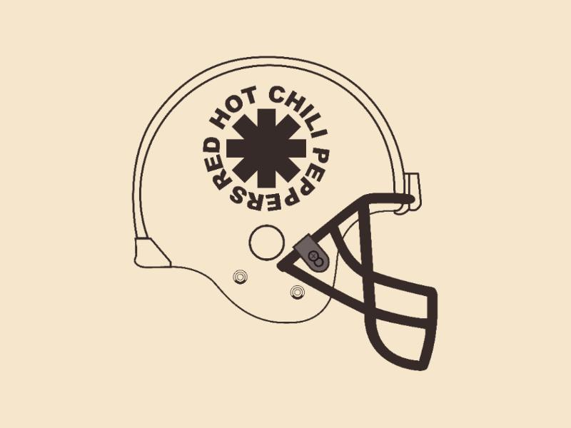 Red Hot Helmet vector illustrator design