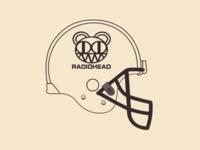 Radiohead helmet