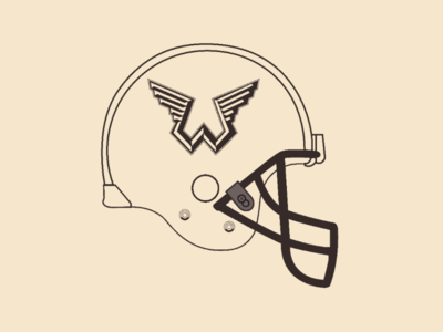 Wings helmet