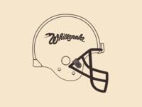 Whitesnake helmet