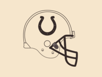 Colts helmet