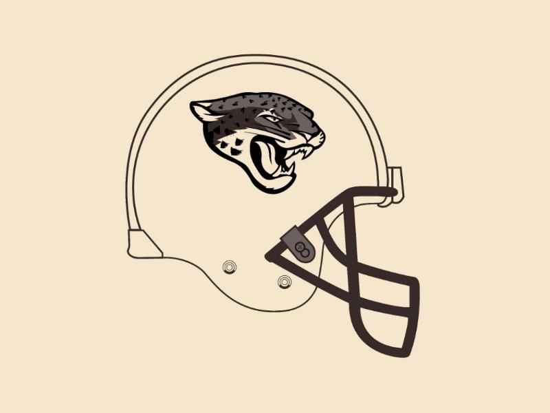 Jaguars helmet vector illustrator design