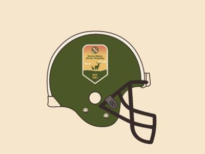Santa María helmet