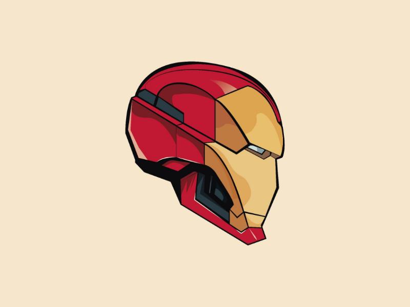 Ironman vector illustrator design