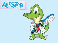Dr. Alligator wants to brush your teeth