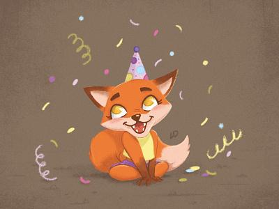 Cute Little Fox / Teremok fox teremok photobook kindergarten kids illustration kids illustrator illustrations deadstiks cubs characters animals