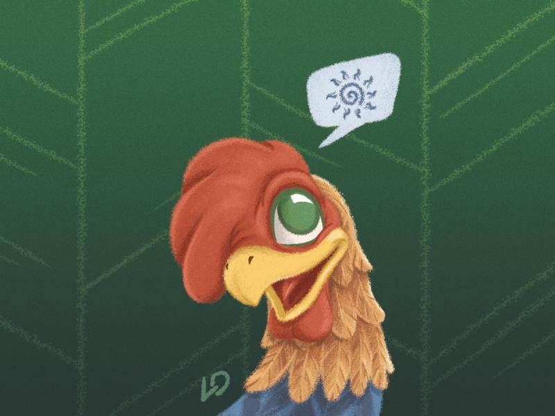 Rooster / Teremok teremok photobook kindergarten kids illustration kids illustrator illustrations deadstiks cubs characters animals rooster
