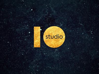 Logo for 10 Studio nail salon nail studio design logotype manicure logo