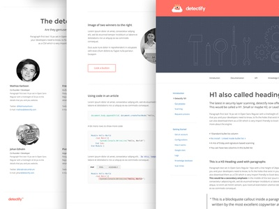 Detectify Web