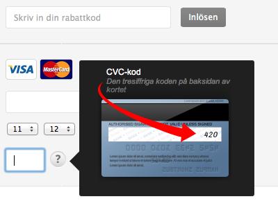 CVC Visa