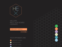 Hex Node Knockout Game Page