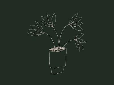 just a cute lil guy procreate design print illustration