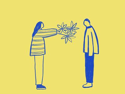 """here"" illustration"