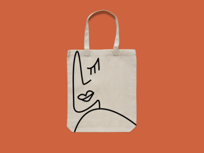 2019 is the year of the totebag branding illustration design totebag apparel design