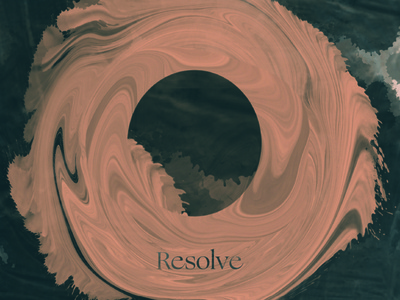 Resolve print design typography collage type illustration