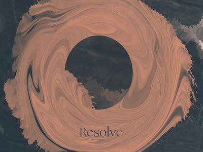 Resolve print design typography collage type illustration
