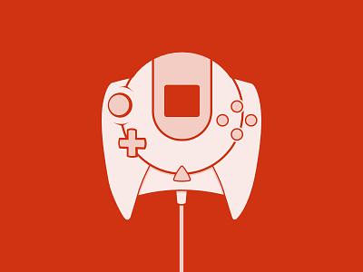Sega Dreamcast Controller sega dreamcast retro gaming games video