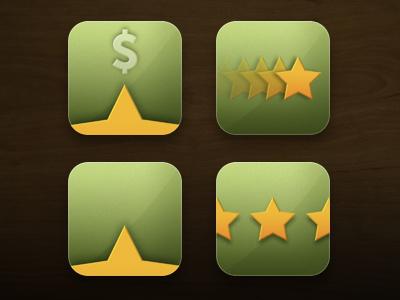 youTip Alternative Icons star cash money ios ui iphone app