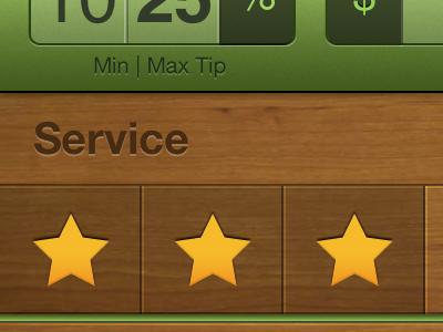 youTip UI ios iphone app ui star