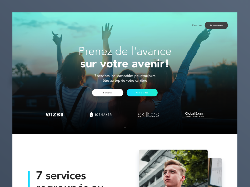 Homepage Rebrand SEB rebrand webdesign homepage website web ux ui flat branding design