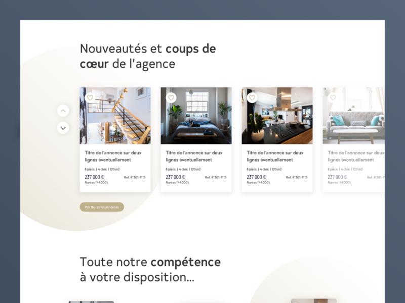 Century 21 Rebrand home product rebrand flat identity homepage ui web ux design branding