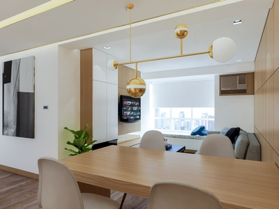 Condominium Interiors visualization rendering clean lines modern dwelling residential design interiors