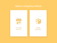 Select A Delivery Method.