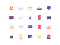 Icon design practice by copying
