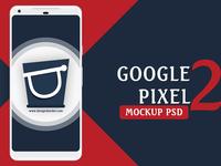 Google Pixel 2 XL Mockup PSD