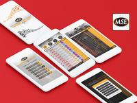 Magic Star Digital Song Book UI Design