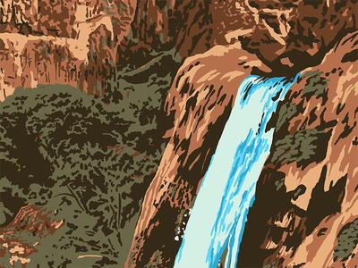 Waterfallin'