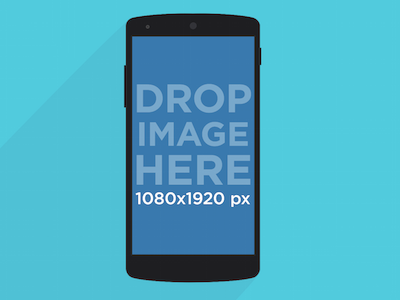 Free Illustrated Nexus 5 Mockup