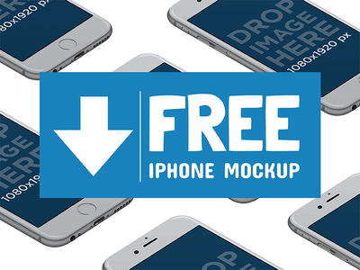 Free iPhone Mockup app marketing iphone template iphone freebie iphone psd iphone mockup free psd free mockup freebie free