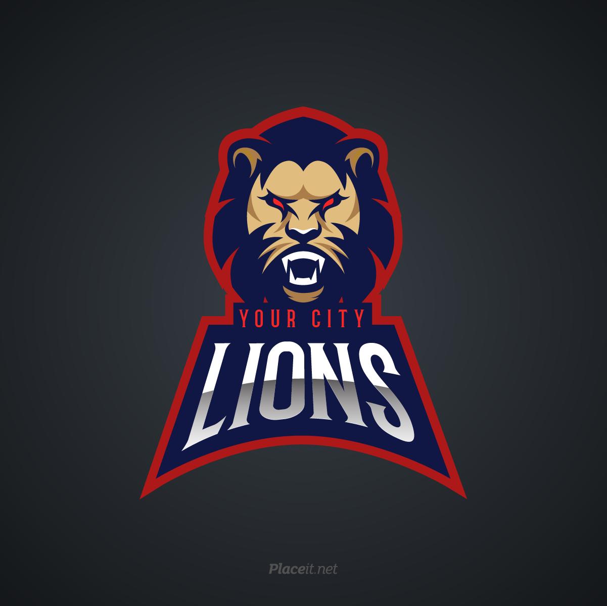 Lions sports logo