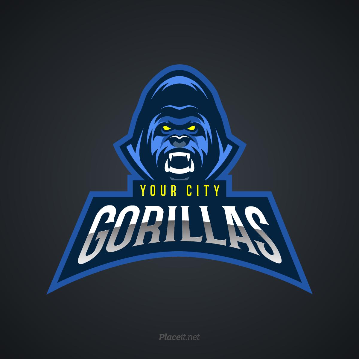 Gorillas sports logo