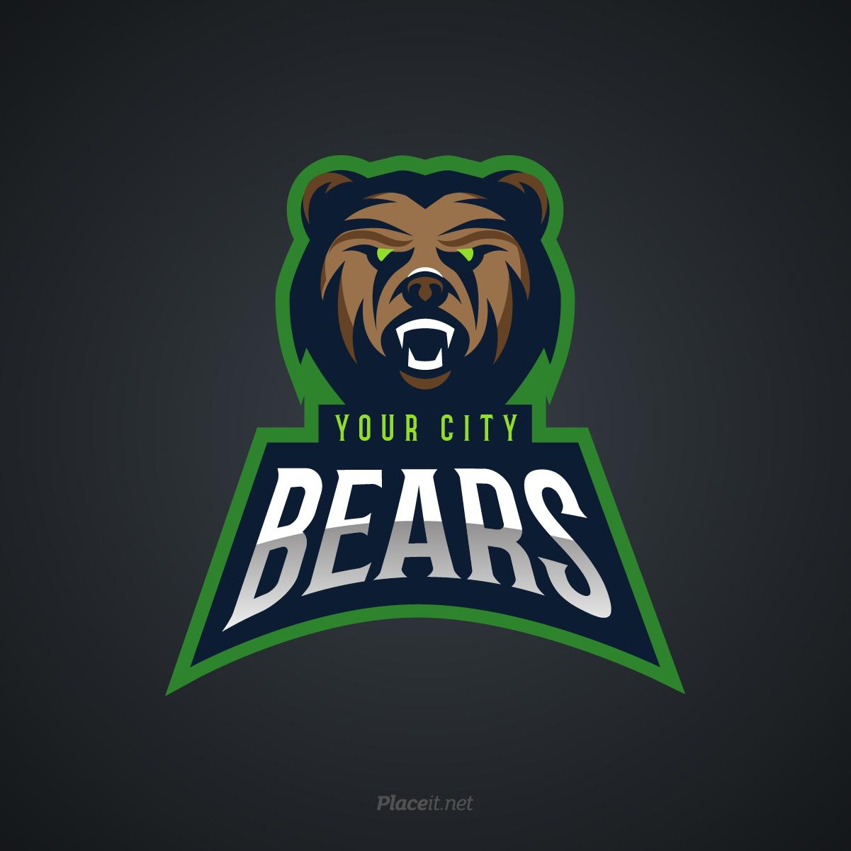 Bears sports logo