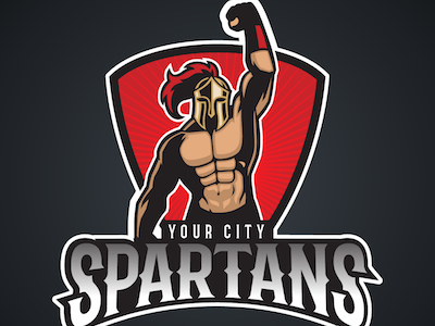 Spartans sports logo