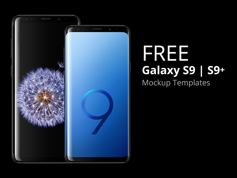 Samsung Galaxy S9 Mockup Free Download By Placeit Dribbble