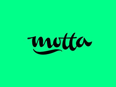 Motta800 motta t m type calligraphy lettering logotype logo