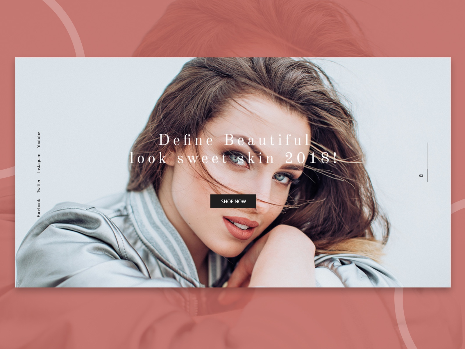 Beauty Skin Care Website Banner By Dharmesh Adiyecha On Dribbble