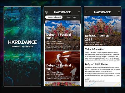 Event & Live Concert Booking App UI latest 2019 trend app flat app uiux desing application design dance party app festival event song app live video app booking app live concert booking app event booking app