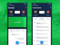 Football App Ui