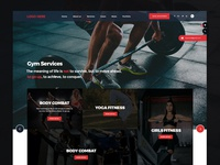 GYM Fitness Website Landing Page
