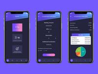 Financial Calculator App UI