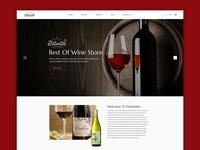 Winery - Landing Page UI Desing