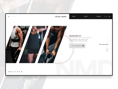 Fitness website Banner